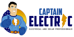 Electricians in Croydon & Ringwood – Captain Electric Logo
